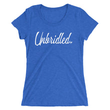 Load image into Gallery viewer, Unbridled Ladies' short sleeve t-shirt