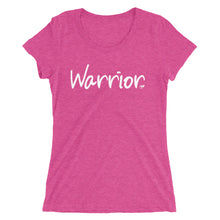 Load image into Gallery viewer, Warrior Ladies' short sleeve t-shirt