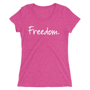 Freedom Ladies' short sleeve t-shirt