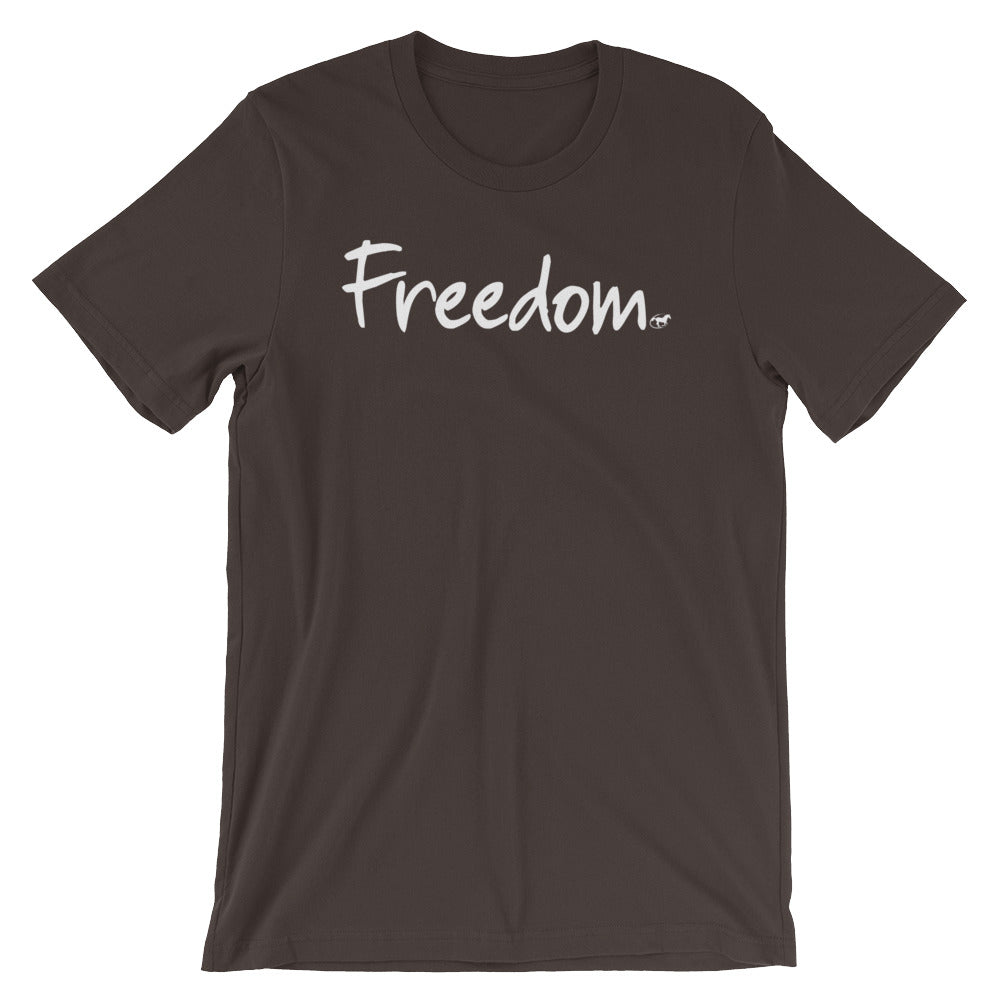 Freedom Short-Sleeve Unisex T-Shirt