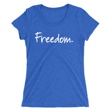 Load image into Gallery viewer, Freedom Ladies' short sleeve t-shirt
