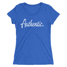 Load image into Gallery viewer, Authentic Ladies' short sleeve t-shirt