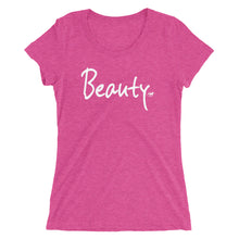 Load image into Gallery viewer, Beauty Ladies' short sleeve t-shirt