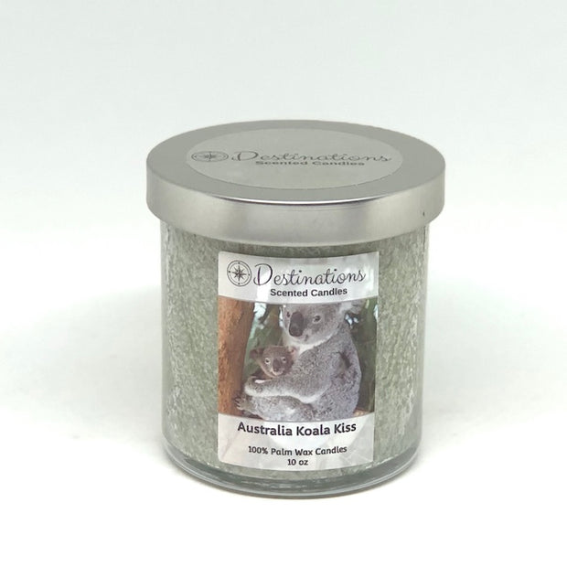 Australia Koala Kiss 10 oz candle, wax tart and room sprays