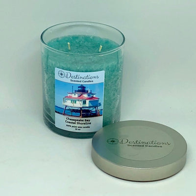 Chesapeake Bay Coastal Shoreline 10 oz candle, wax tarts and room sprays