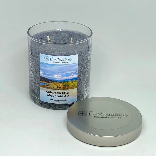Colorado Crisp Mountain Air 10 oz candle, wax tarts and room spray