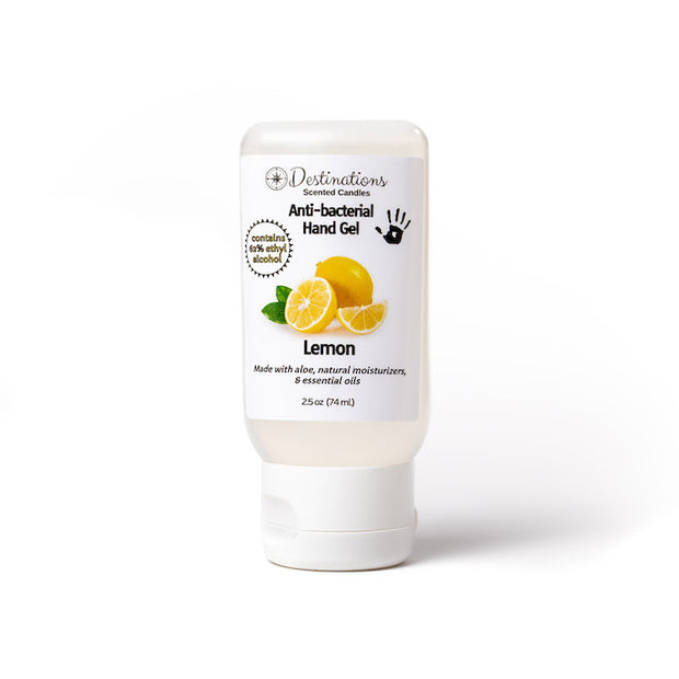 Scented Anti-bacterial Hand Gel - 2.5 oz