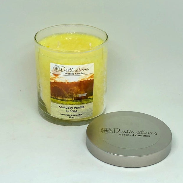 Kentucky Vanilla Sunrise 10 oz candle, wax tarts and room spray