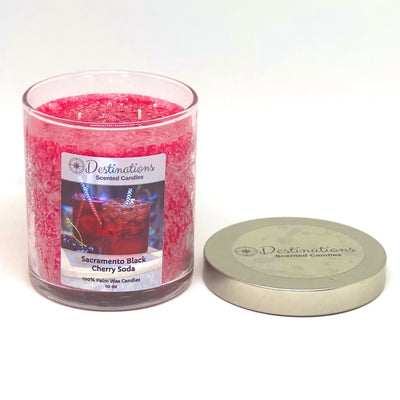 Sacramento Black Cherry Soda 10 ox candle, wax tart, and room spray