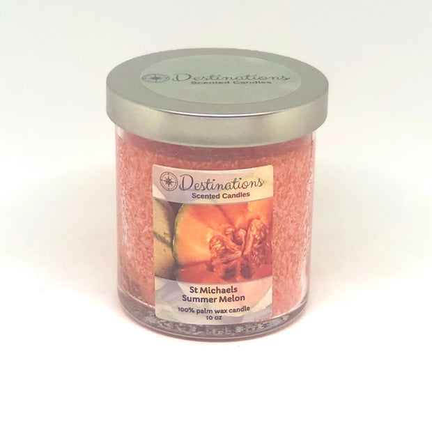 St. Michaels Summer Melon 10 oz candle, wax tarts, room spray
