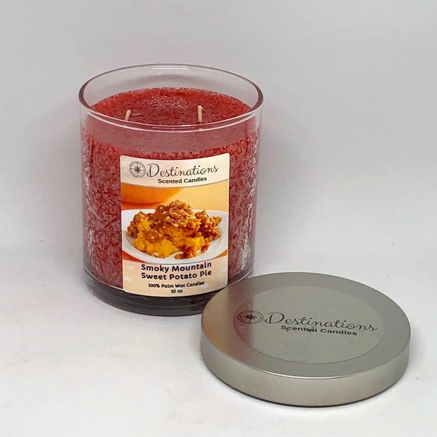 Smoky Mountain Sweet Potato Pie 10 oz candle, wax tarts and room spray