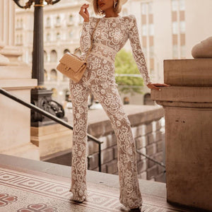 Sexy Fashion Long Sleeve Jumpsuit-Jumpsuit-PMS-Same As Photo-s-Gofiala