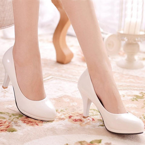 Plain Pumps-Pump-PMS-White-us8.5-Gofiala