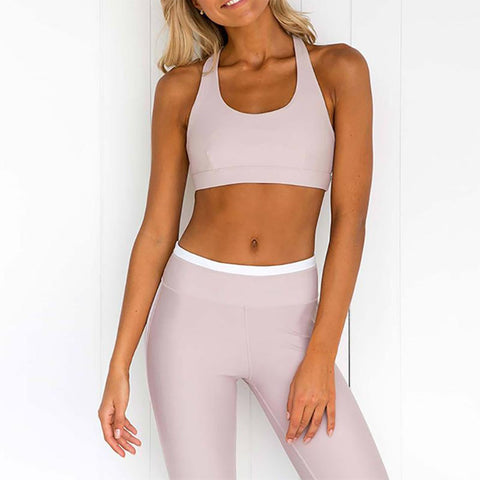 Sincere Printing Splice Yoga Suit Trousers Vest Set-Yoga-PMS-Same As Photo-s-Gofiala