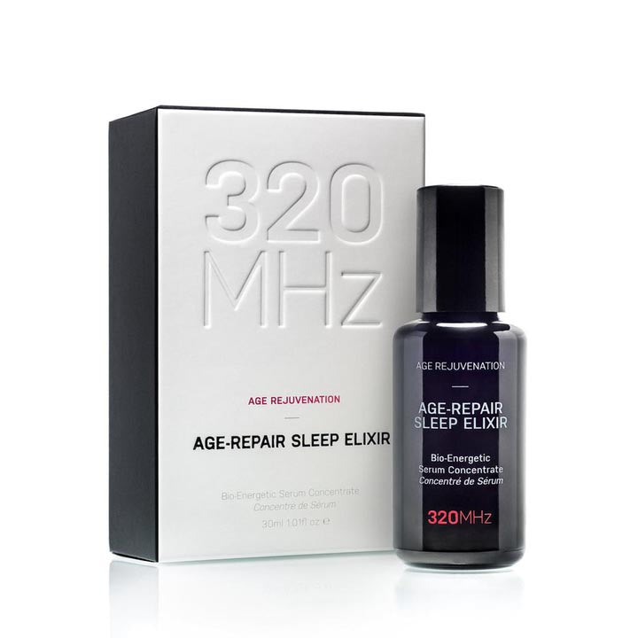 Age-Repair Sleep Elixir Serum Concentrate Organic Neroli and Rose Otto