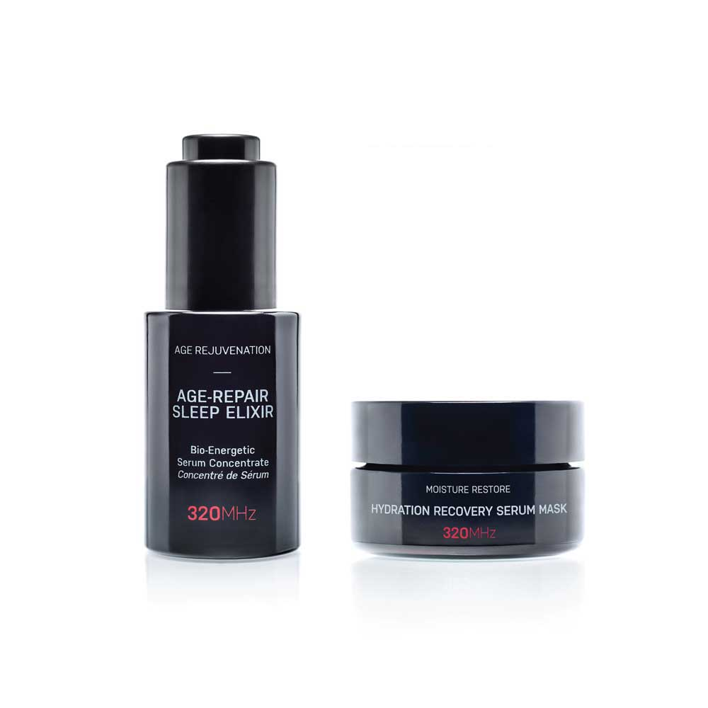 Limited Gift Set Offer: Hydration Recovery Serum Mask & Age-Repair Sleep Elixir Serum - SAVE £40