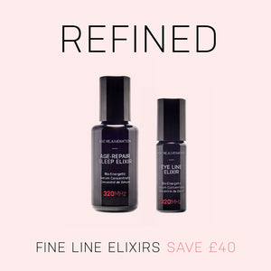 Set Offer: Age-Repair Sleep Elixir and Eye Line Elixir Serum - Organic Rose Otto and Neroli - SAVE £40