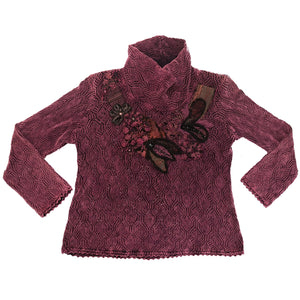 Norma Vintage_ cherry sweater