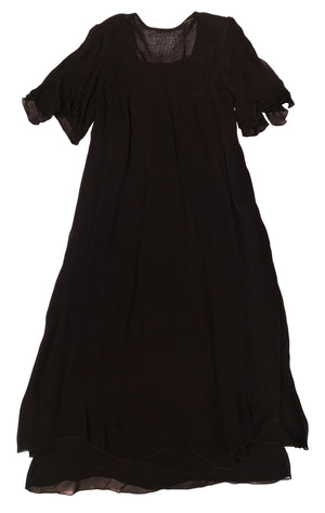 Norma Vintage _long black dress