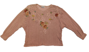 Norma Vintage _pink sweater