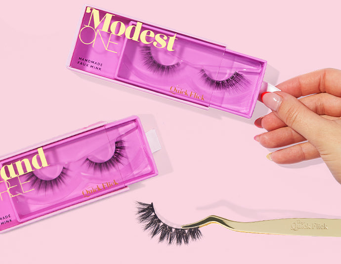 How To Cut False Lashes (Like A Pro!)