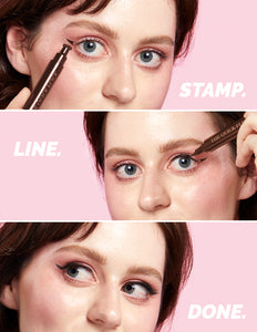 Eyeliner Stamp / 4 Sizes - Hot Fudge