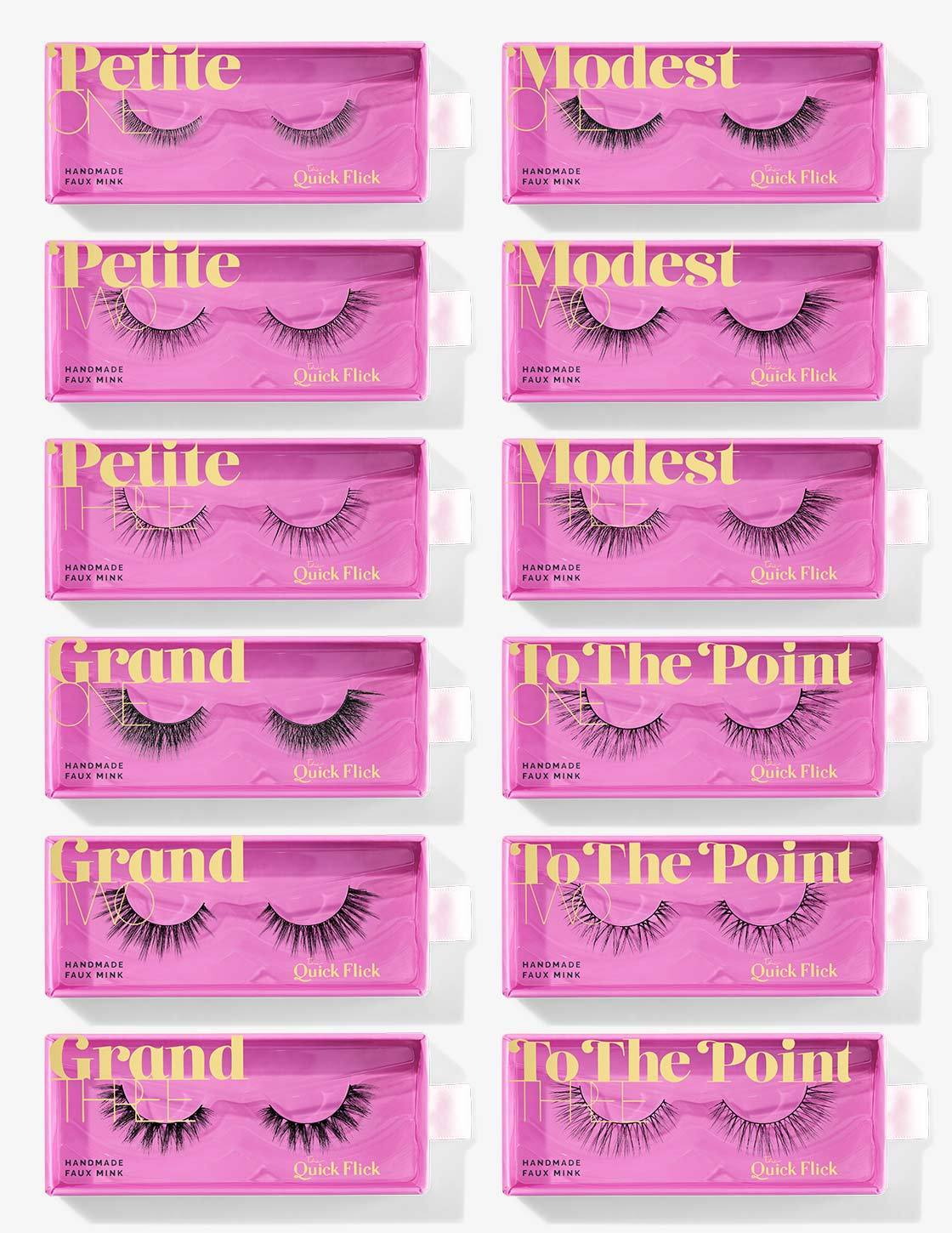 The Want It All Lash Collection