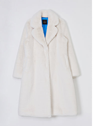 Gwyneth Faux Fur Coat_Snow White