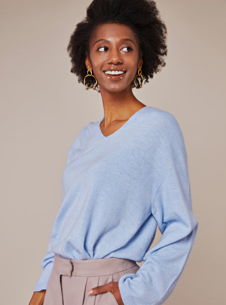 Lauren Sweater_Light Steel Blue