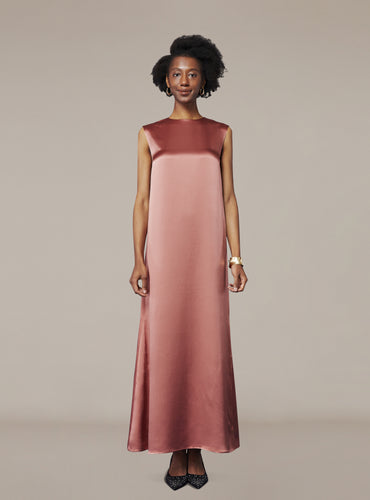 Amy Dress_New York Pink - LYKEY