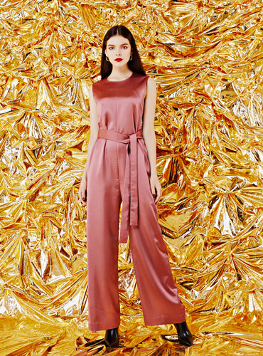 Olivia Jumpsuit_Rose Gold