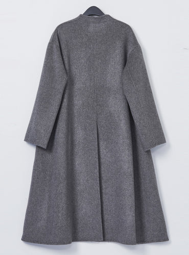 Tilda Maxi Coat_Warm Grey - LYKEY