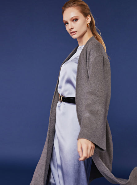 Tilda Maxi Coat_Warm Grey