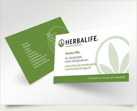 Herbalife business cards idealstalist herbalife business cards colourmoves
