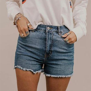 Leisure Pure Color Cowboy Shorts