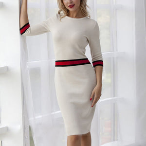 A sweet wind dress bodycon dress