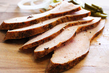 Load image into Gallery viewer, Family Pack #3 (serves 3-4, Sliced Beef or Turkey, with Potato Salad, Beans and Bread)