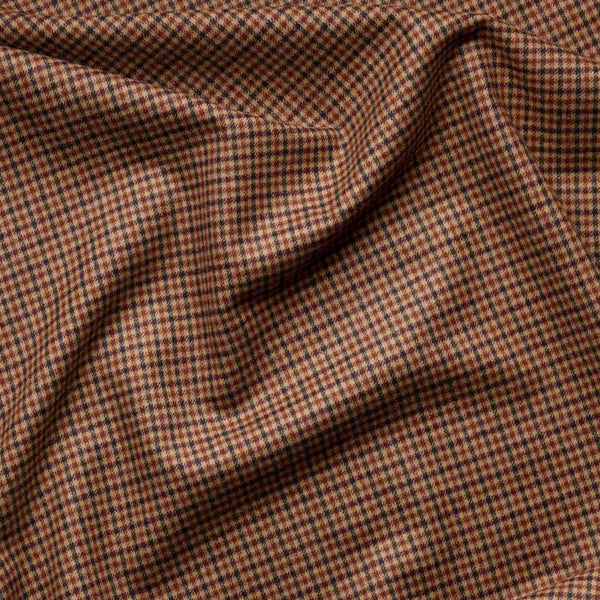 Fox Drop: Halsway Gunclub Check & Rich Brown Cavalry Twill