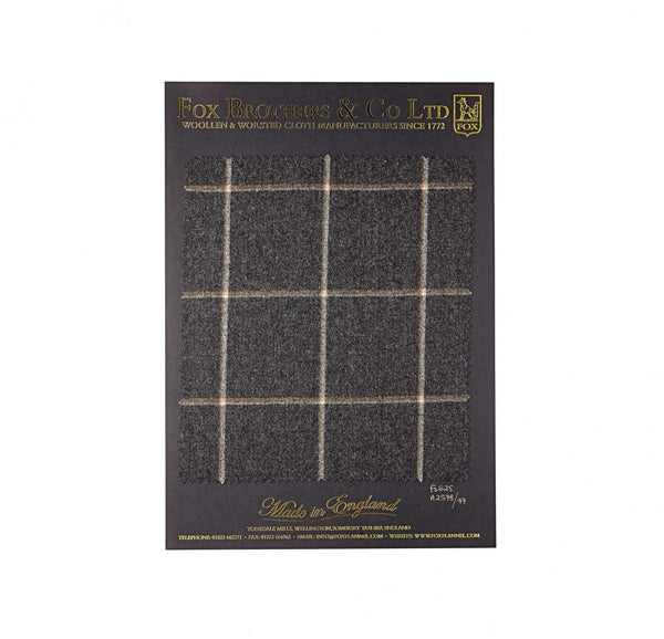 290g Charcoal Windowpane