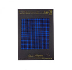 290g Royal Blue Check