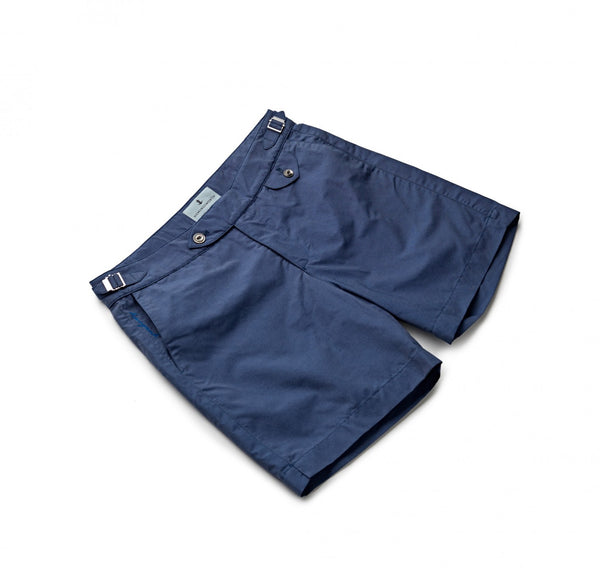 Sharkfin Blue Swim Shorts