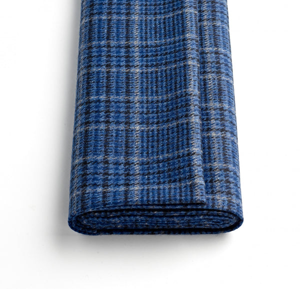Blue Glen Check Jacketing
