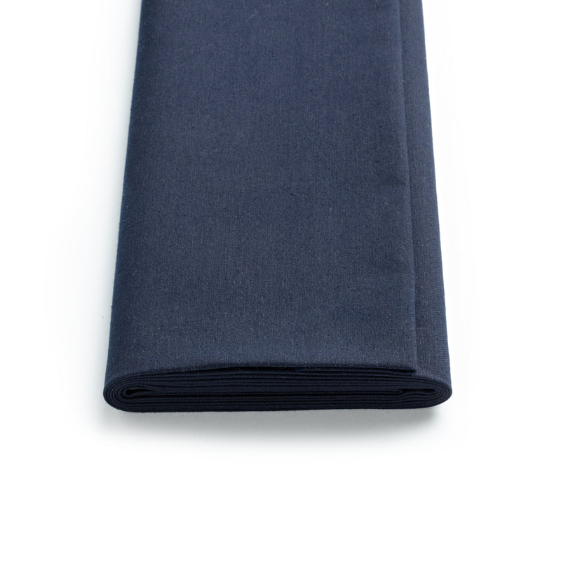 Dark Navy Overdyed Fox Cotton