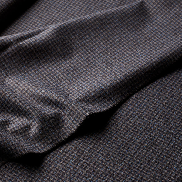 The-Merchant-Fox-Fox-brothers-limited-edition-flannel-luxury-cloth-microcheck-check-fabric-fancy-houndstooth-bespoke-tailoring-heritage-cloth-woven-in-somerset-close-up