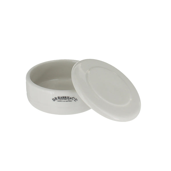Ceramic Shaving Bowl with Lid