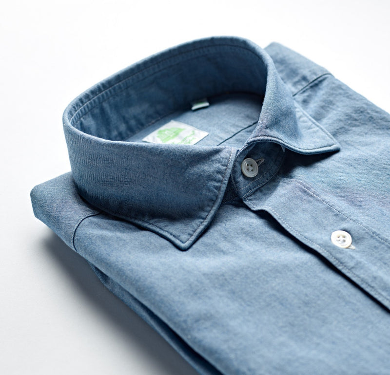 Finamore Weekend Chambray Shirt