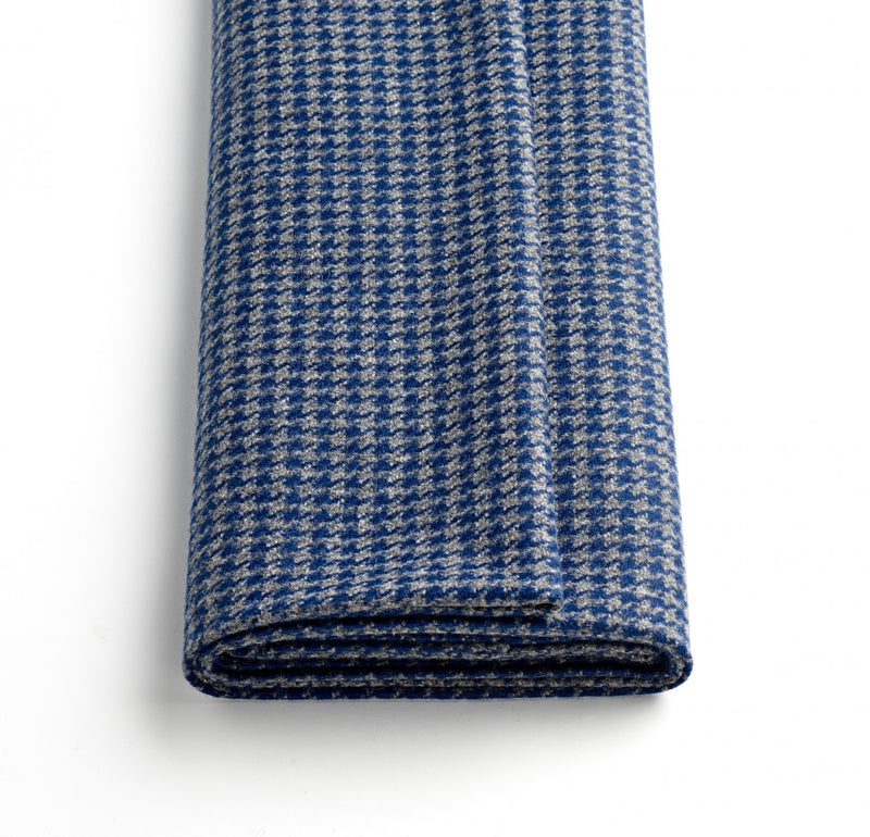 Char-Blue Houndstooth Jacketing