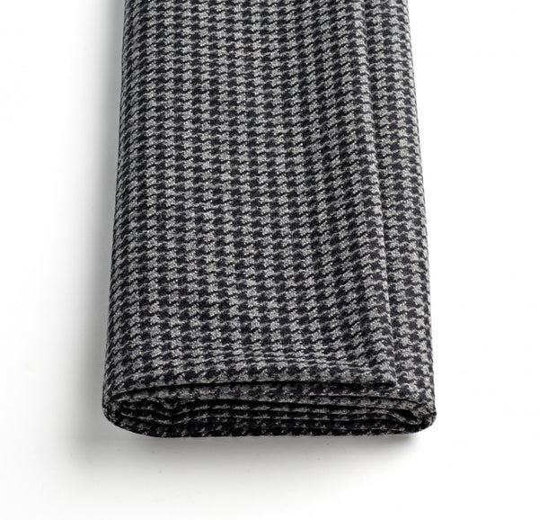 Charcoal Houndstooth Jacketing