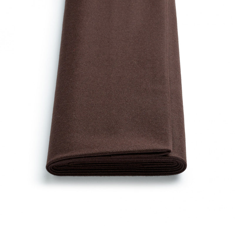 Chocolate Brown Mayfair Flannel