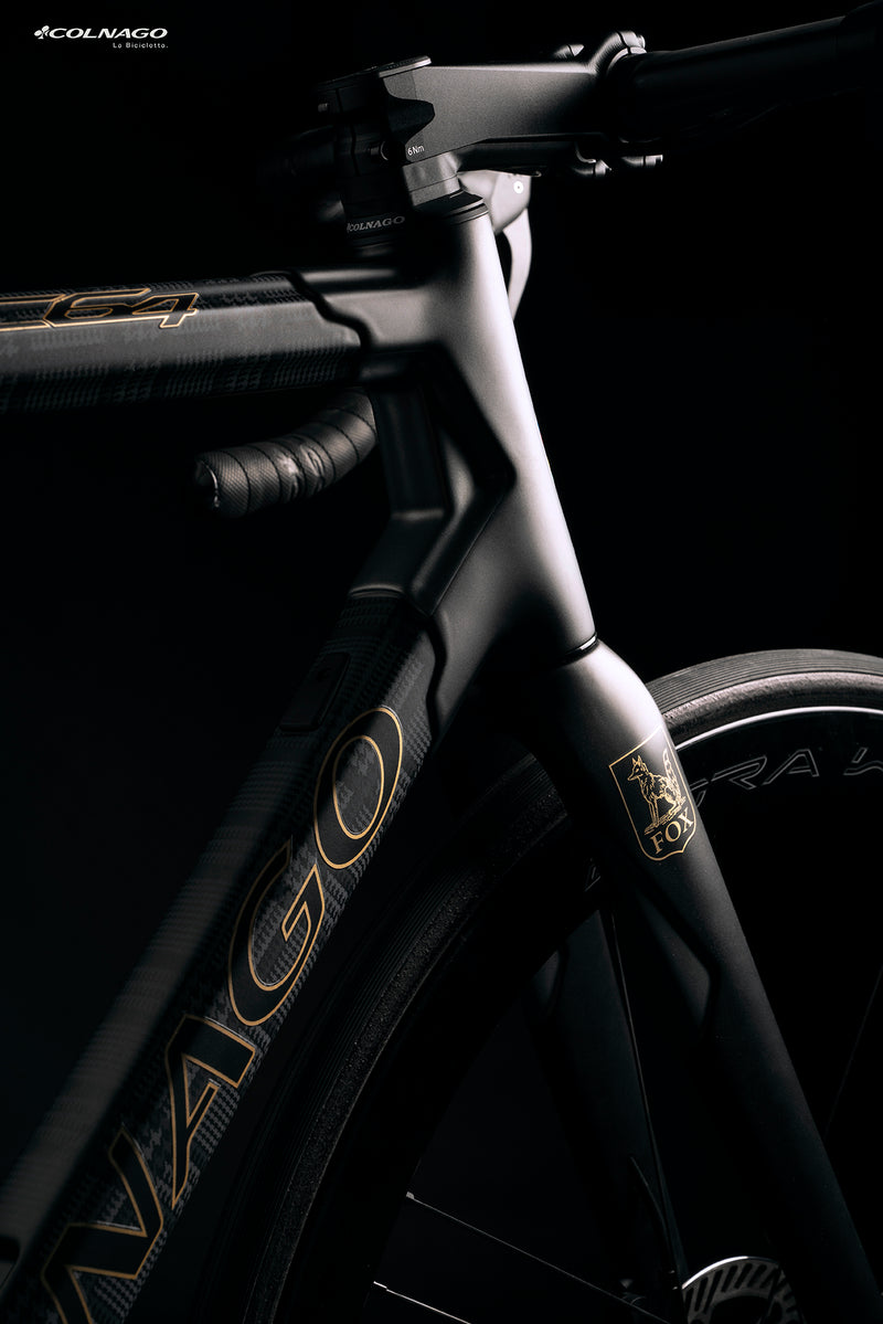 Colnago x Fox Brothers C64 disc brake